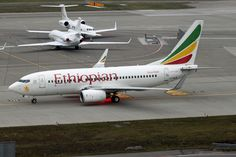 Ethiopian Airlines ET-ALN Boeing 737-700 (NBO-MGQ)