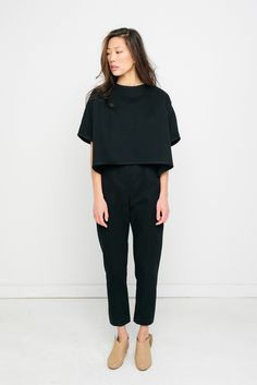 Linn Tee in Cotton Twill