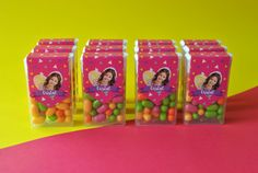 Dulces personalizados Soy Luna! #dulcespersonalizados #candybar #tictac                          con nombre de fiorela