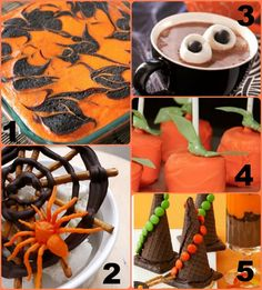 50 Spooky #Halloween Treats for the Kids to Eat!