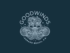 Working on a couple designs for Goodwinds, a Watersports center and surf shop in Puerto Rico.
