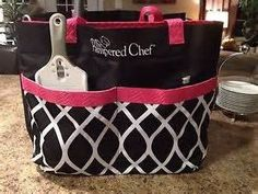HUGE PAMPERED CHEF CONSULTANT STORAGE BAG TOTE ** You can find out more details at the link of the image.