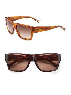 Dolce Acetate Square Sunglasses