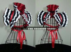 Reversible Harley Quinn Dramatic Moulin rouge by TheFashionVault