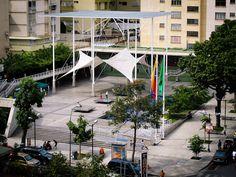 Plaza Los Palos Grandes en Caracas