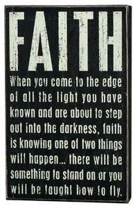 Faith- fly girl.....weeeeeee!