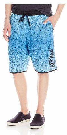 NEW Men's Hurley Nike Dri-Fit Force Mesh Shorts SMALL MSRP $45 Bin 13 #Hurley #CasualShorts