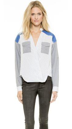 Line II Dion Lee Oversize Loop Front Shirt