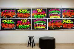 ELLIOT TUPAC: Screen printing - Sign painter -Lettering on Behance