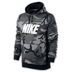 Mens Nike Woodland Camo Hoodie #MensFashionNike