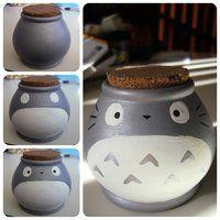 Totoro Pot by ~XxH3LLOxKiMCHixX on deviantART <3!!!