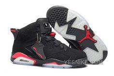 http://www.yesnike.com/big-discount-66-off-ireland-nike-air-jordan-6-vi-mens-shoes-black-red-bfent.html BIG DISCOUNT! 66% OFF! IRELAND NIKE AIR JORDAN 6 VI MENS SHOES BLACK RED 4FFBA Only $99.00 , Free Shipping!