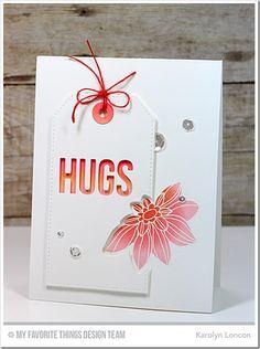 Fancy Flowers Card Kit - Karolyn Loncon #mftstamps