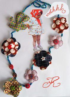 collana necklace crochet