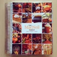 A better look at my special Fall favorites cover! @planner_mac_amber