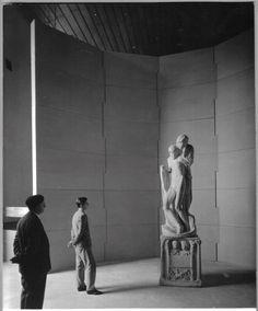 studio BBPR - musei del Castello Sforzesco - allestimento per Pietà Rondanini (da mostra Michelangelo e il Novecento)