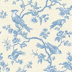 soft blue toile