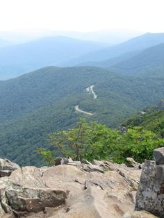 Tips for Shenandoah National Park Hiking Trails for your next trip to Virginia. This photo: Stony Man Trail.