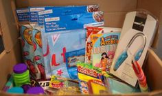 camp care package for girls