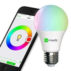 Mimoodz Bluetooth Smart LED Light Bulb iPhone Controlled ... https://www.amazon.com/dp/B0162HJ708/ref=cm_sw_r_pi_dp_x_I9luybF8BXFV2