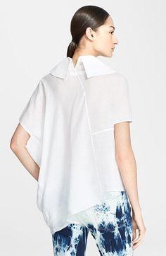 Junya Watanabe Asymmetric Linen Blouse   Nordstrom