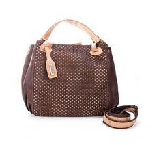 Artelusa Patterned Cork Handbag in Dark Brown Louis Vuitton Speedy Bag, Louis Vuitton Damier, Fabric Bags, Shopper, Cork, Dark Brown, Handbags, Pattern, Algarve