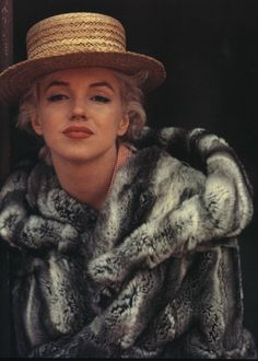 Marilyn Monroe by Milton Greene, May 1956