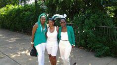 GREEN AND WHITE AFFAIR