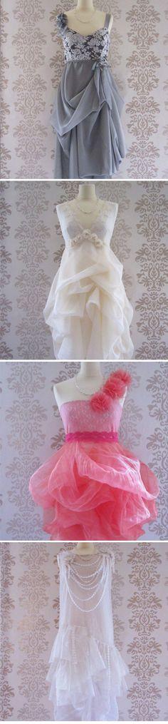 Romantic floaty bridesmaid dresses