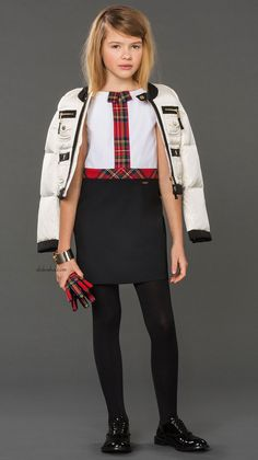 ALALOSHA: VOGUE ENFANTS: Must have of the Day: Winter essentials with DSQUARED2