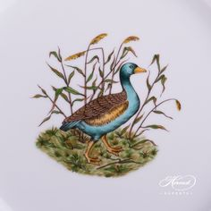1 pc – Dinner Plate – diam cm – Female Wild Duck This pattern is painted with the famous Hunter… Dinnerware Ideas, Dinner Sets, Forest Animals, Serving Plates, Fine China, Hunters, Dinner Plates, Deer, Pride