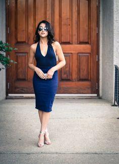 Ashley Settingiano - silverstile.com Red And White, Blue, Dresses, Fashion, Vestidos, Moda, Fasion, Dress, Gowns