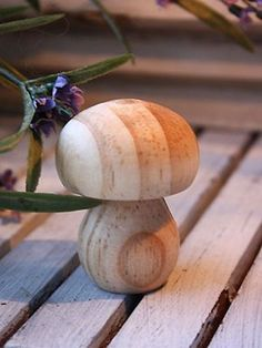 Decorative Wooden Mushrooms                                                                                                                                                      More