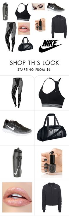 """""""Untitled #68"""" by soukainajaber on Polyvore featuring NIKE and Cirque Colors"""