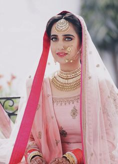 #indianbride #indianwedding #indianjewellery #sikhwedding #pastel #pastelwedding #bride #WomendressesSpecialOccasions