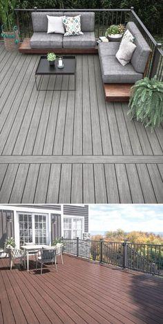 Wpc Decking, Composite Decking, Decking Area, Deck Design, Garden Design, Wood Deck Railing, Deck Gate, Deck Makeover, Aluminum Decking