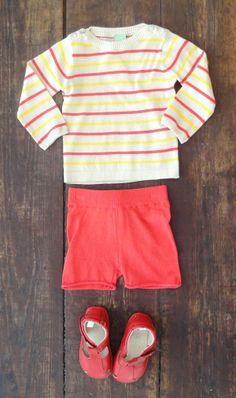 Spring Outfit   Easter Day   Organic Cotton   FUB   Danish Style   Kids Fashion   Baby outfit   Tip Toey Joey   Stripes   Classic   www.threepotatofour.co.uk