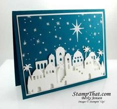 Christmas Card Kick-Off Class at StampThat Studio