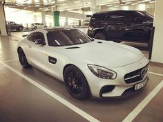 Silver Chrome AMG GTS