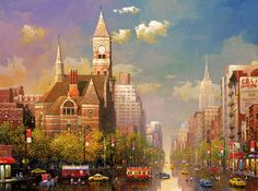New York Afternoon ~ Alexander Chen