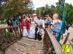 King's Court Castle - Lake Orion, MI #stairs #wedding #bride #groom #ido #outdoor #happy #michigan #lakeorion