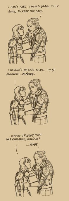 DA2 - Bad Pick Up Line by PhoenixFuryBane on deviantART