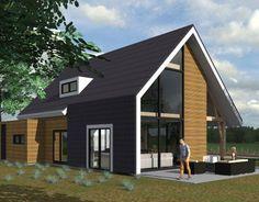 Nieuwbouw vrijstaande woning in Waddinxveen in ontwikkeling.