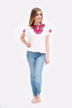 56 mejores imágenes de blusas mexicanas bordadas en 2019 ... d576c9a7ee86a