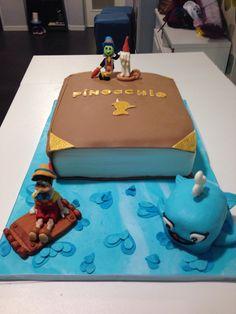 Pinocchio tale's cake