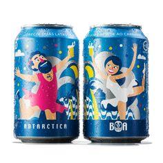 Si te mola elpackaging, este de la marca de cerveza La Antártida te va a encantar. Lo ha diseñado la agencia AlmpaBBDO y jamás dirías que se trata realmente de una lata de cerveza. Es juvenil, divertido, alegre y mola un montón. Tanto, que hasta te dará pena tirar las latas una vez te las be…