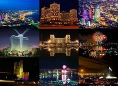 Baku the city of lights