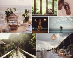 Bohemian wedding in Bali...if ONLY!!
