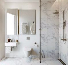 Home Interior Farmhouse square marble bathroom tiles // bathroom renovation.Home Interior Farmhouse square marble bathroom tiles // bathroom renovation Marble Tile Bathroom, Stone Bathroom, Laundry In Bathroom, Bathroom Flooring, Marble Mosaic, Mosaic Tiles, Carrara Marble, Bathroom Wall, Marble Wall