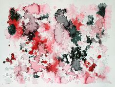 Organized Chaos 2, watercolor painting by Sarah Woo